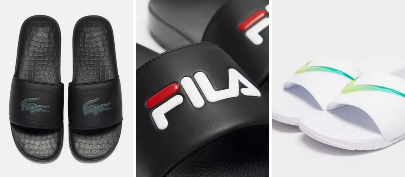 Lacoste, FILA, Nike