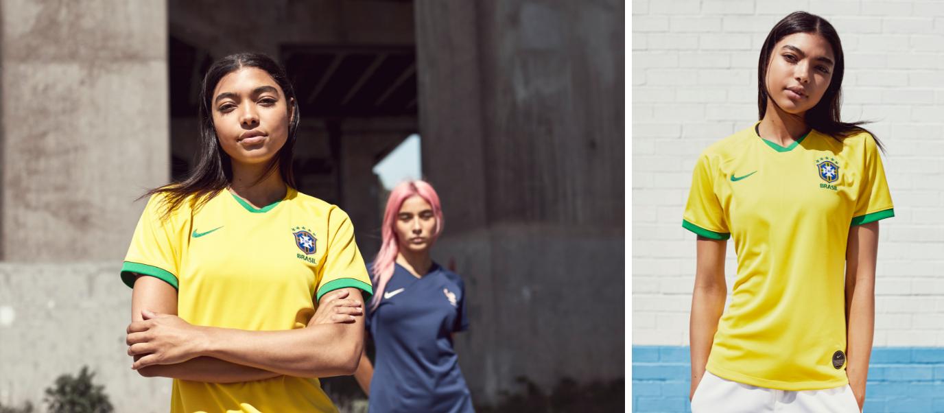 Maillots Brésil coupe du monde