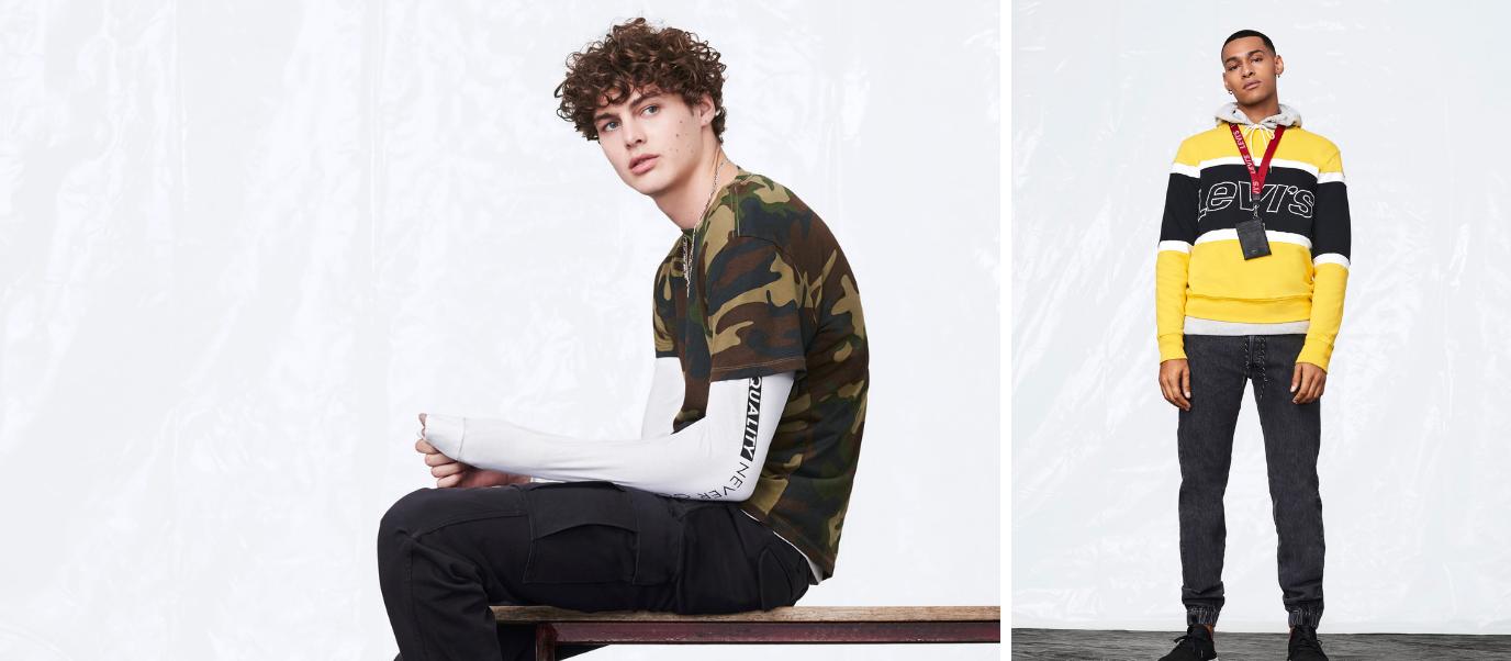 Levi's variété vêtements