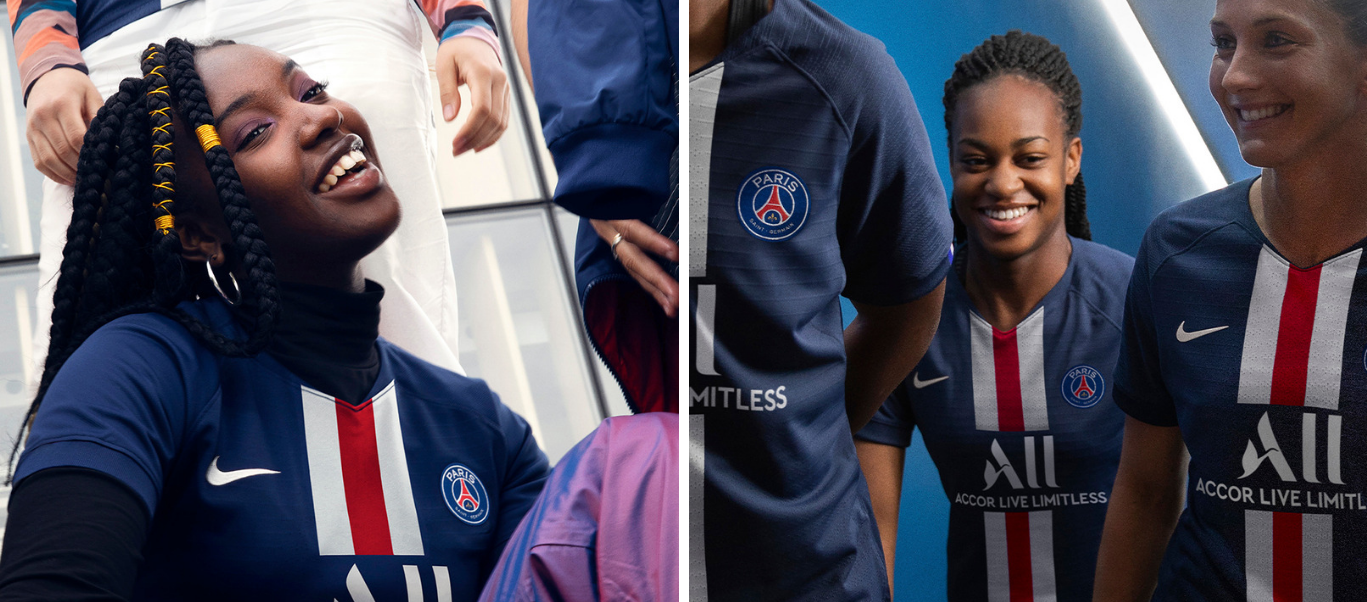 Maillots PSG Femme