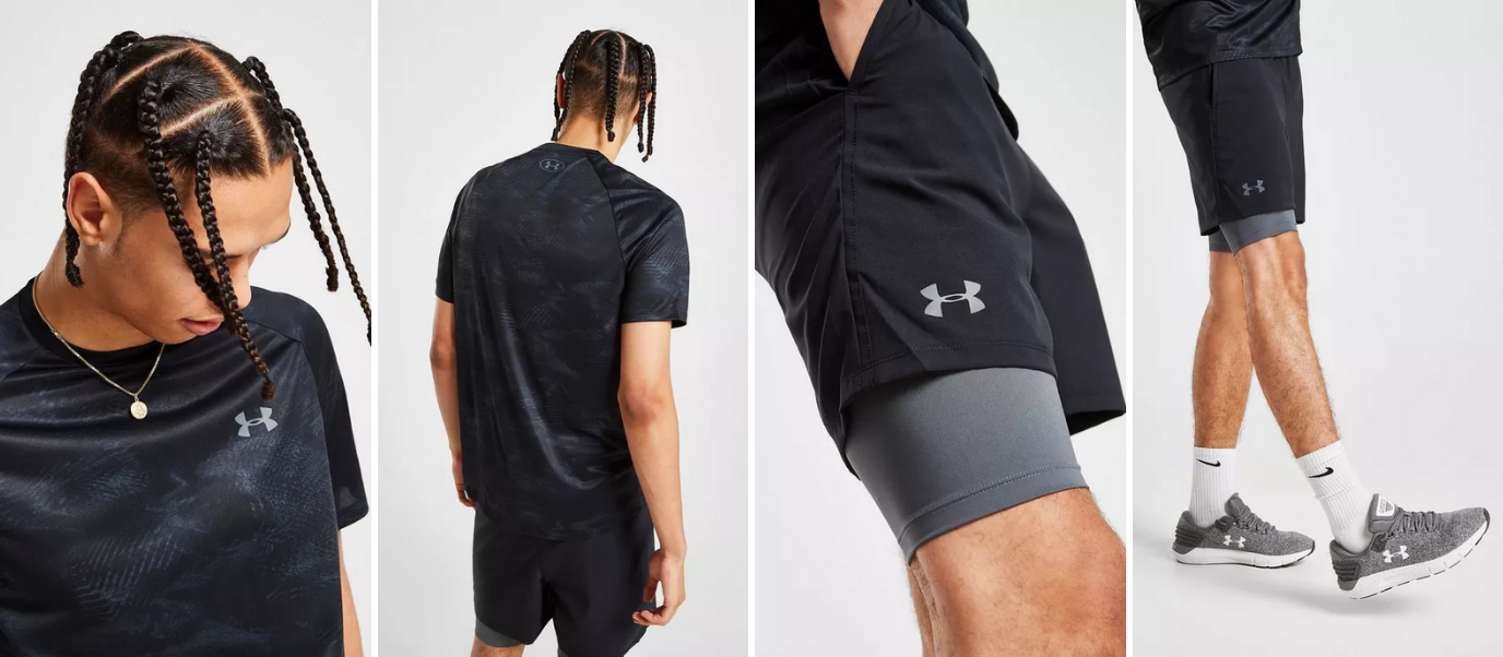 Tenue Crossfit Under Armour Homme