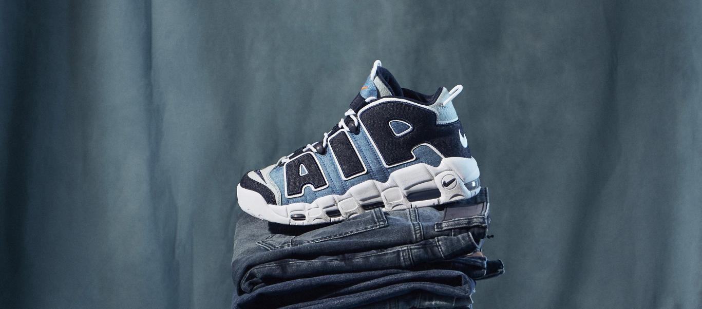 UpTempo bleu Nike