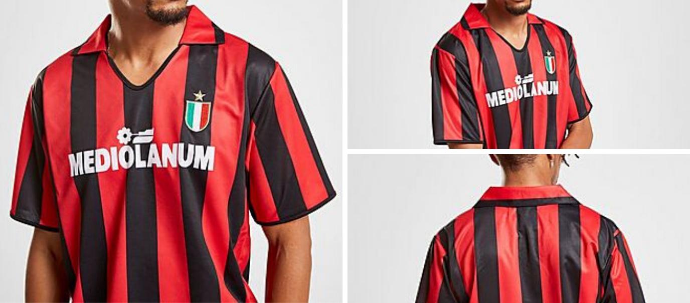 Maillot Milan AC 88-89