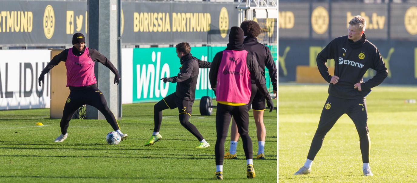 Entraînement Dortmund
