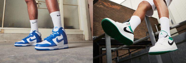 Banner - Dunk vs Air Jordan
