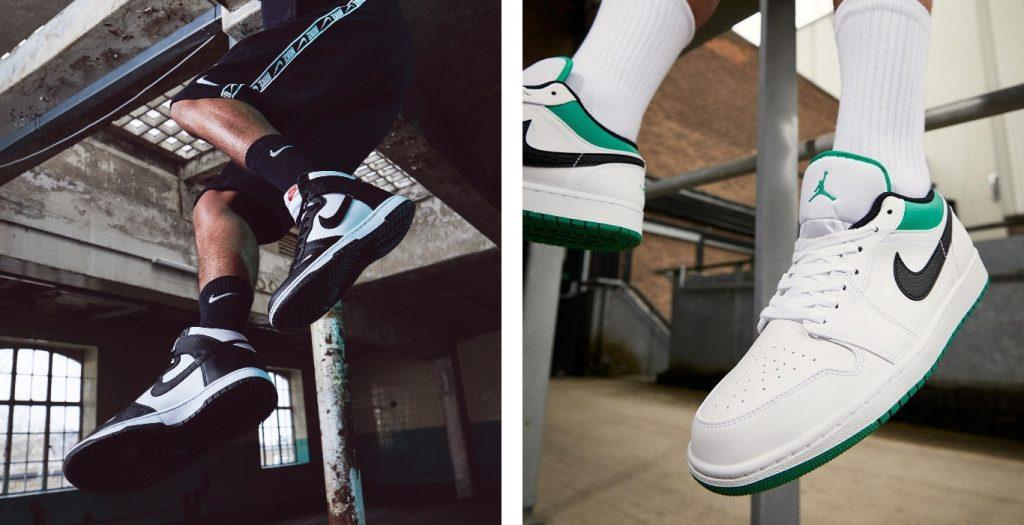 Dunk vs Air Jordan 2